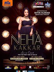 Neha Kakkar Live