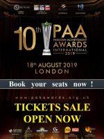 PAA Awards 2019